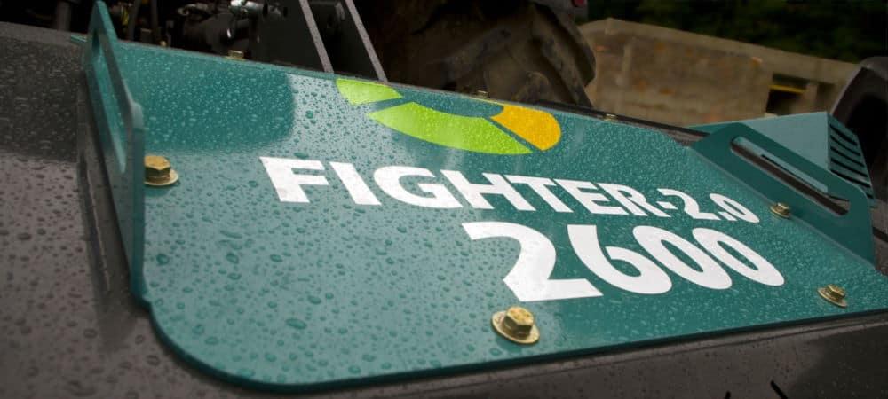 Лісовий подрібнювач Fighter від компанії Аллюр-Агро